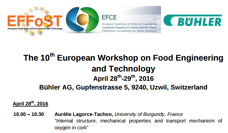 10th European Workshop on Food Engineering and Technology